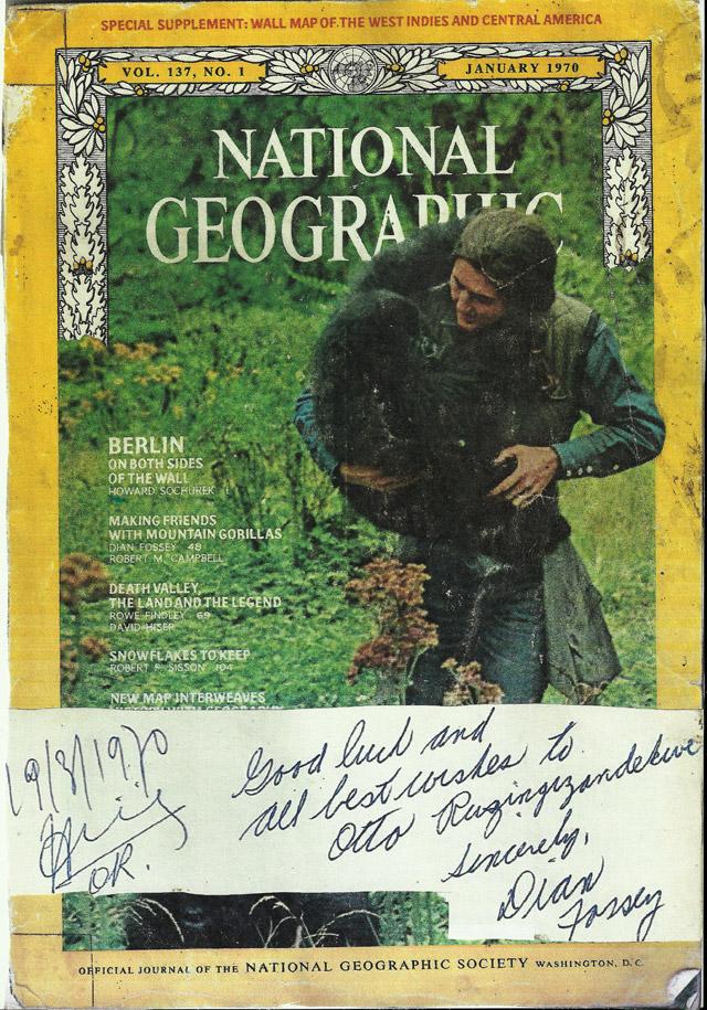 Dian Fossey Scan NG 1970