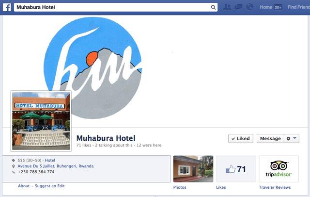 Facebook Muhabura Hotel